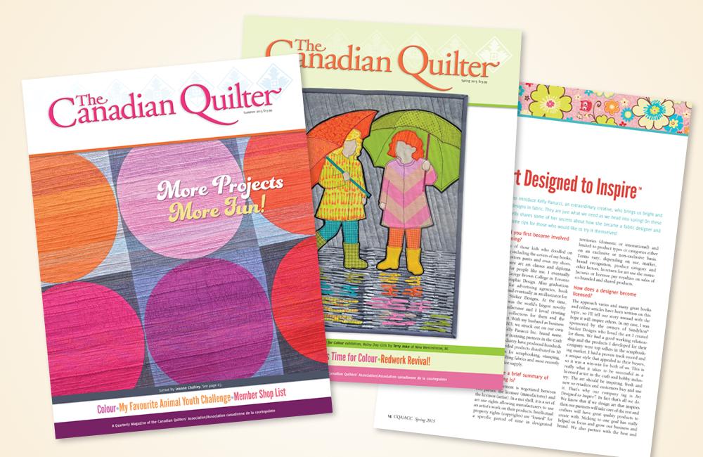 Canadian Quilter Magazine