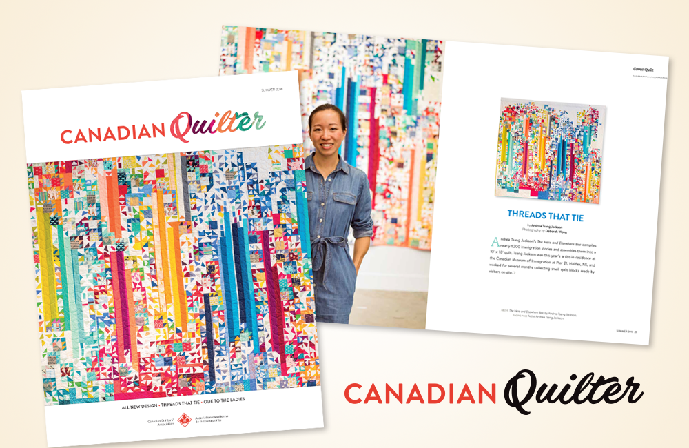 Canadian Quilter Revisited